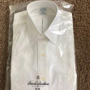 Brooks brothers mens dress shirt 15-33